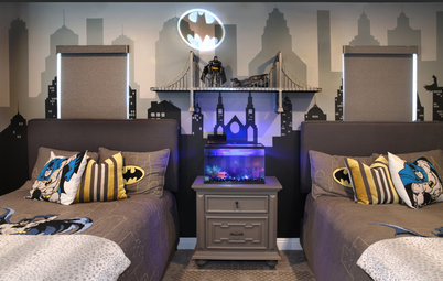Before and After: Welcome to the Batcave