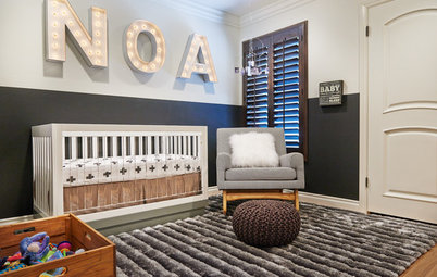 Room of the Day: Chic Neutrals Give a Nursery an Edge