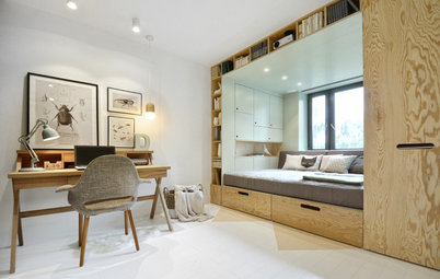 Room Tour: A Cool Bedroom Packed With Ingenious Storage Solutions