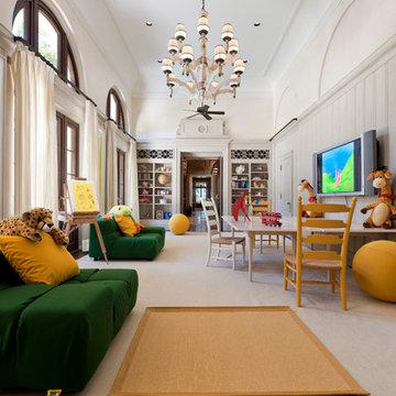 Interior Architecture Miami Indian Creek Home – Playroom