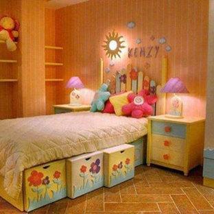 Foto di una cameretta per bambini minimalista