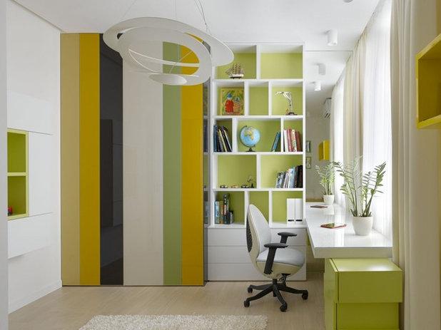 El cuarto de los niños: Por qué decorarlo en verdes y amarillos