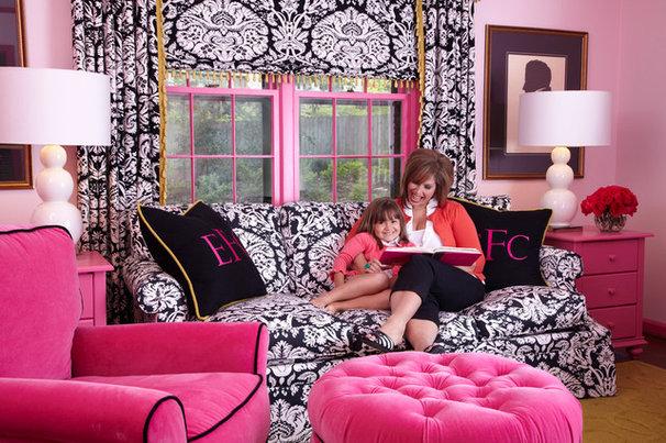 Traditional Kids by Tobi Fairley Interior Design