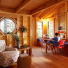 A Hideaway for All Ages Perched Among the Trees in Maine