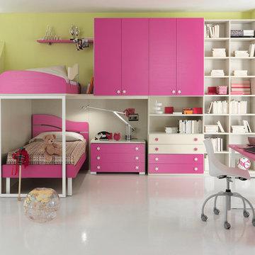 Italian Kids Bunk Bedroom Set ONE 603 by SPAR | www.umodstyle.com