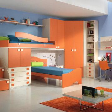 Italian Kids Room Furniture Set ONE 608 by SPAR | www.umodstyle.com