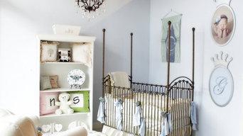 Ivory and Pale Blue Nursery