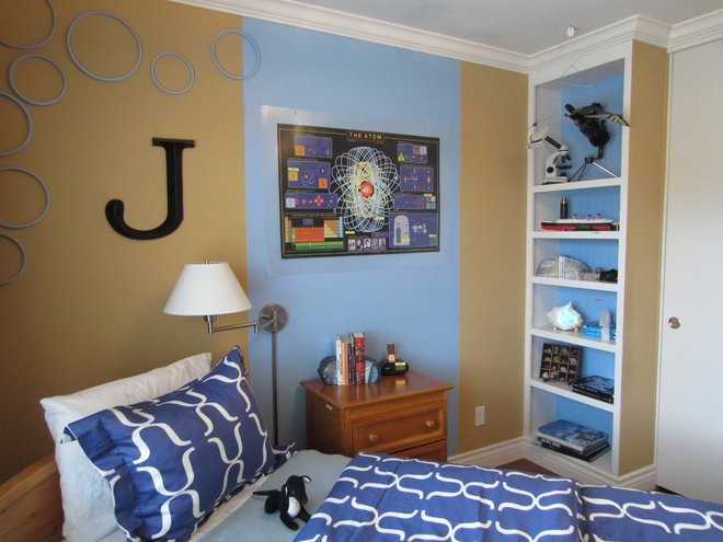 Eclectic Bedroom by Janice Peters, Distinctive Decor