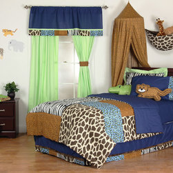 Jazzie Jungle Kids Bedroom -