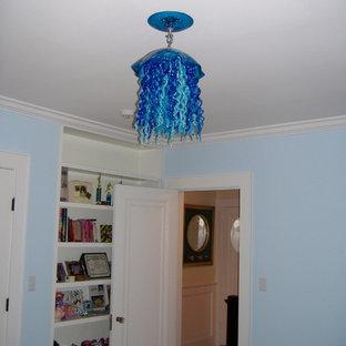 Jellyfish Pendant Installation : Triple Blues Short Hills