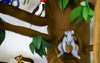 An Enchanted Woodlands Playroom Roots for Imagination