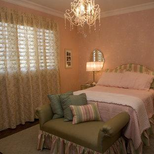 Idee per una cameretta per bambini da 4 a 10 anni tradizionale di medie dimensioni con pareti rosa e moquette