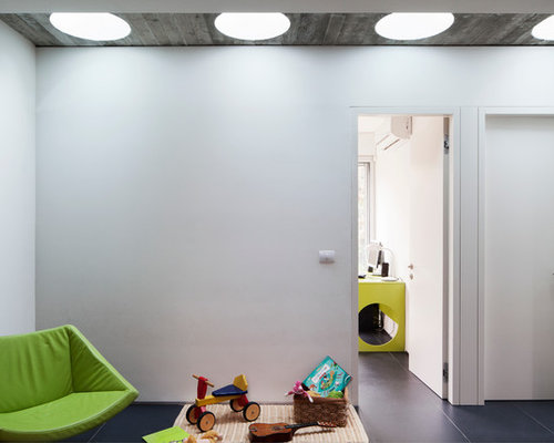 Modern Kidsu0027 Room Idea In Other With White Walls