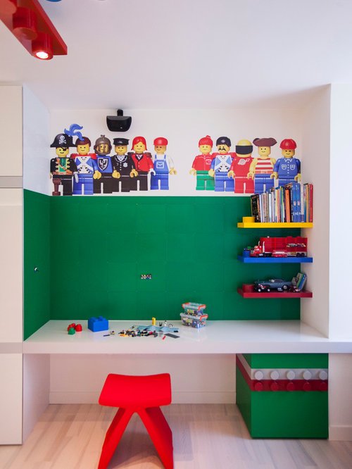 SaveEmail. Lego Wall Mural Design Ideas   Remodel Pictures   Houzz