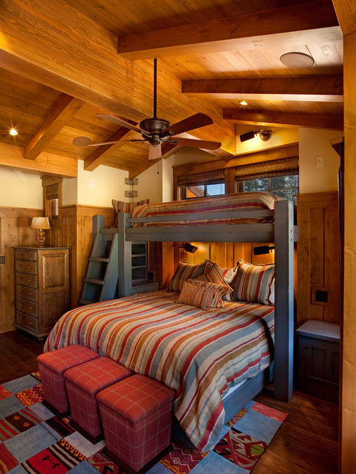 Twin Over Queen Bunk Bed Houzz