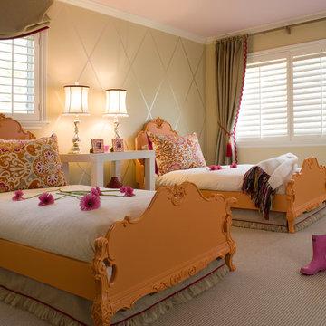 Kentfield Sisters' Bedroom