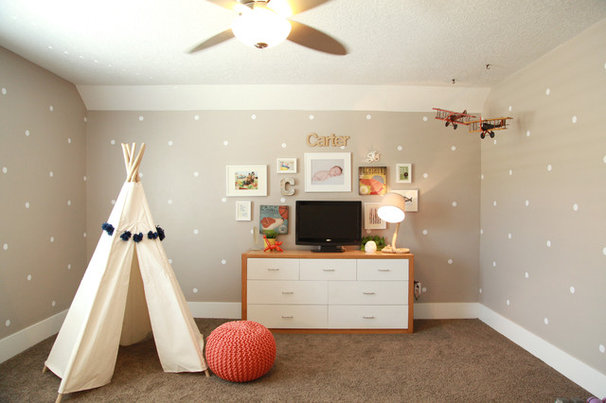 Eclectic Kids Kid's room