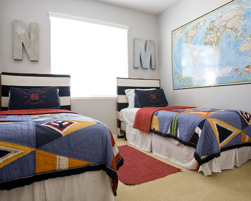 Kids Bedroom Headboard boy room headboard | houzz