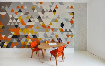 """Darum sollten Sie Ihre Wände mal mit Filz """"tapezieren"""""""