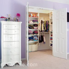 Eclectic Kids by Rylex Custom Cabinetry and Closets