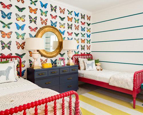 kidsu0027 room idea in phoenix with walls - Jenny Lind Bed