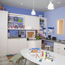 Contemporary Kids by Closet Organizing Systems
