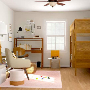 Inspiration for a scandinavian gender-neutral playroom remodel in Cincinnati