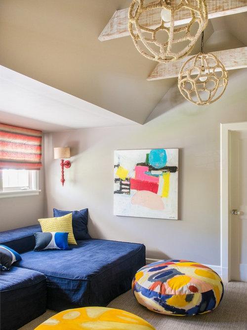 Landhausstil kinderzimmer ideen design bilder houzz for Kinderzimmer landhausstil