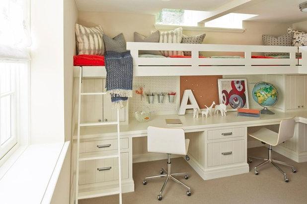 Contemporáneo Dormitorio infantil by Martha O'Hara Interiors