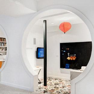 Aménagement d'une salle de jeux d'enfant moderne.