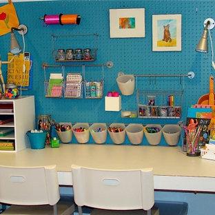 Stilmix Kinderzimmer mit Spielecke in Boise