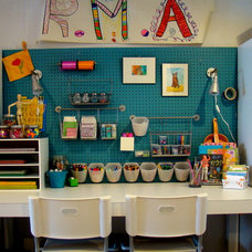 Contemporary Kids Kids Art Studio