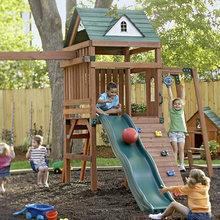 Playground landscaping