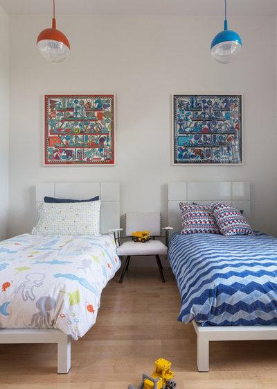 Contemporain Chambre d'Enfant by Ann Lowengart Interiors