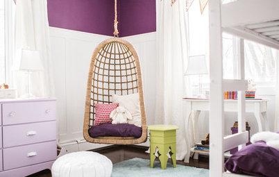 Osez le violet dans les chambres d'enfant !