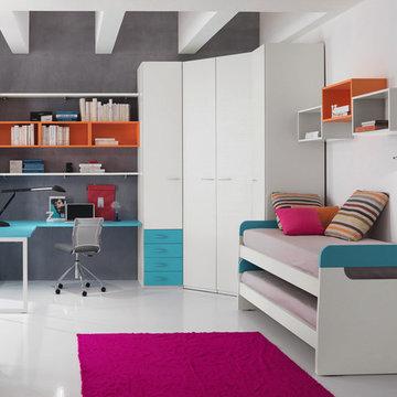 Kids Bedroom Set ONE 404 by SPAR, Italy