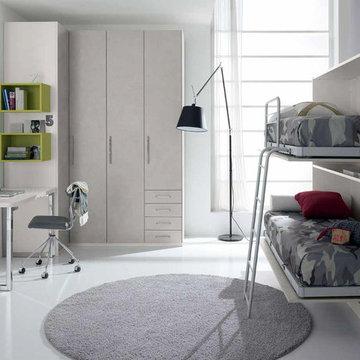 Kids Bedroom Set WEB 77 by SPAR, Italy