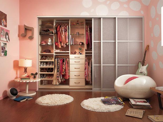Contemporain Chambre d'Enfant by California Closets