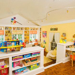 Transitional kids' playroom in Atlanta.