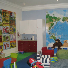 Eclectic Kids by David Nosella Interior Design