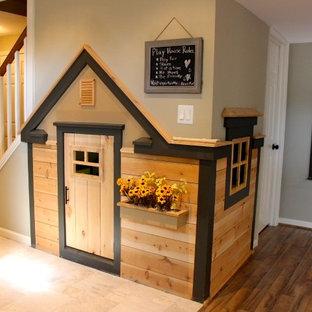 Cette image montre une chambre d'enfant de 4 à 10 ans craftsman.