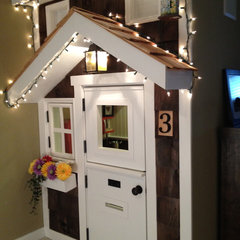 traditional kids Kids' Playhouse (under stairs)