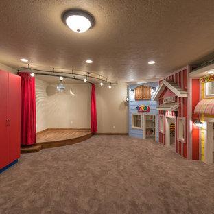 Exemple d'une chambre d'enfant craftsman.