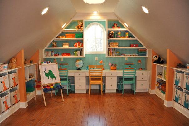 Contemporary Kids Kids' Playroom