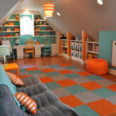 Contemporary Kids Kids' Playroom