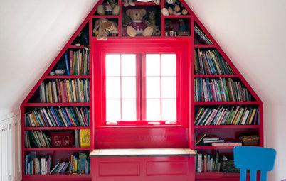 Färgglada rum för lyckliga barn