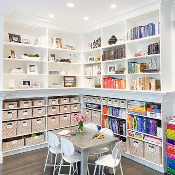Kids Playroom Organization + Design