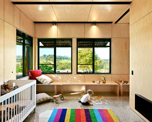 Osb Plywood Wall Houzz