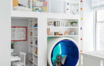 Room of the Day: A Reading Tunnel and Play Loft for Kids