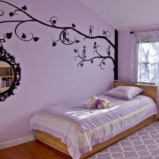 Свежая идея для дизайна: детская в стиле современная классика с спальным местом - отличное фото интерьера